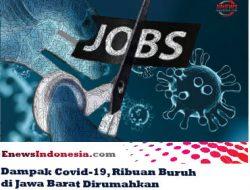 Dampak Covid-19, Ribuan Buruh di Jawa Barat Dirumahkan