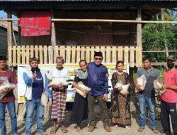 Anggota DPRD Polman dari PKS, Salurkan Ratusan Paket Sembako di Dapil Tiga