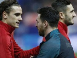 Messi dan Griezmann Terlibat Baku Hantam Saat Sesi Latihan Barcelona