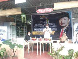 Ditengah Pandemi Covid-19, Anggota DPRD Sulsel Serap Aspirasi Masyarakat Kota Makassar