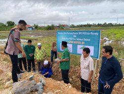 Ketua DPW PKB Sulsel Hadiri Peletakan Batu Pertama Kantor DPC PKB Kabupaten Pinrang