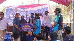 Reses di Kecamatan Tapalang, SDK Kembali Salurkan Bantuan ke Warga