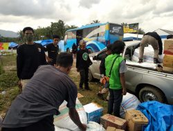 Aliansi Pemuda Tapalang Galang Bantuan untuk Korban Banjir Masamba