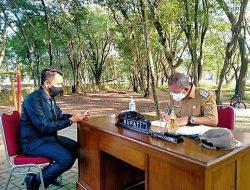 Buat Langkah Inovatif, Bupati Polman Berkantor di Taman Terbuka