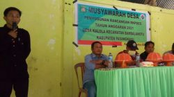 Desa Kalola Musdes Penyusunan RKPDes Tahun 2021