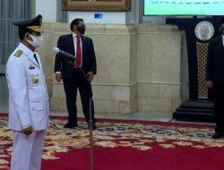 Usai Dilantik Jokowi, Gubernur Kepri Positif Corona