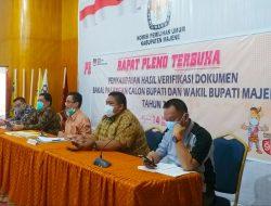 KPU Majene: Hasil Tes Kesehatan Fahmi Massiara Dinyatakan TMS