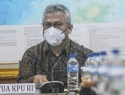 Ketua KPU RI, Arief Budiman Mengumumkan Dirinya Positif Corona