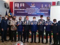 Ketua DPP Partai Nasdem Meyakini 100 Persen, Usungannya Menangkan Pilkada di Sulbar