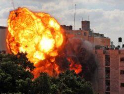 Jumlah Korban Serangan Udara Israel ke Gaza Tewaskan 126 Jiwa Termasuk Anak-anak