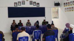 Jelang Hari Raya Idul Fitri 1442.H, Tripika Kecamatan Ulaweng Gelar Rapat Kedua Antisipasi Penyebaran Covid-19