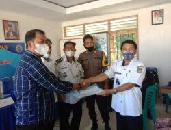 Baru Saja Dilantik, Pejabat Desa Malino Serah Terima Jabatan Dirangkaikan Penyaluran BLT DD