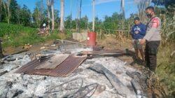 Kebakaran di Bengo, Satu Rumah Panggung Ludes Dilalap Si Jago Merah