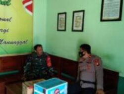 Jalin Sinergitas TNI-POLRI, Kapolsek Lappariaja Silaturahmi ke Koramil Lappariaja