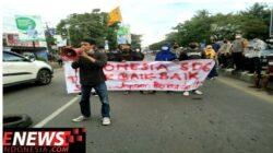 PMII Komisariat Talasalapang Gelar Unjuk Rasa dan Berujung Ricuh
