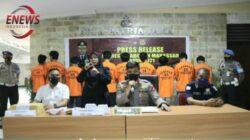 29 Pelaku Narkotika Terjaring Operasi Antik 2021 di Wilhum Polres Pelabuhan Makassar