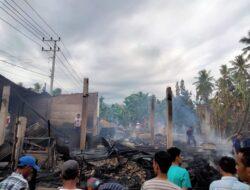 Gegara Korsleting Listrik, 2 Rumah di Tondrolima Ludes Terbakar
