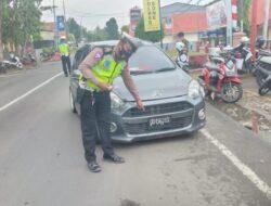 Plat Kendaraan Tidak Sesuai Ketentuan Akan Ditindak Tegas Sat Lantas Polres Bone