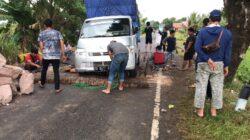 Ruas Jalan Poros Bone – Sinjai di Salomekko Amblas, Pengguna Jalan Diharap Hati-Hati