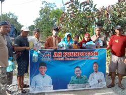 AH Foundation Bantu Korban Banjir Sausu Peore