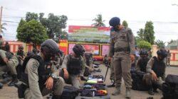 Danyon C Pelopor Cek Kesiapan Personilnya Jelang Pengamanan PON XX 2021 di Papua