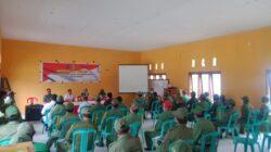 Pemerintah Kecamatan Sausu Gelar BIMTEK Satlinmas Desa